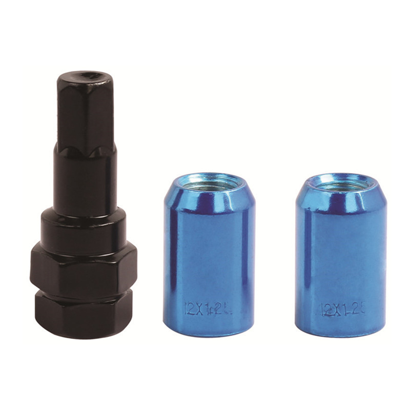 Open end lug nut set M12X1.5 M12X1.25