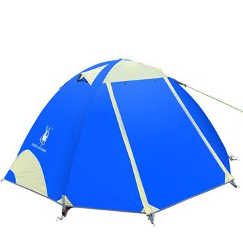 2 man double layer aluminum pole waterproof tent H03