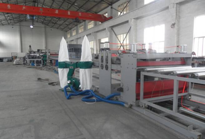 PE PP Hollow Construction/Building Formwork Machine