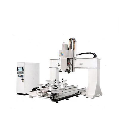 XFL-W3040-80 5 axis machining center 5 axis cnc router machine