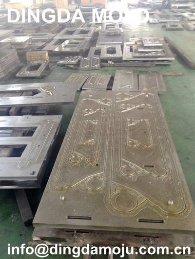 Plate heat exchanger gasket mold Sondex S145, S188, S201