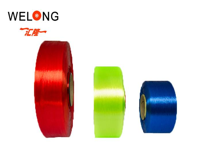 polyester filament yarn for embriodery