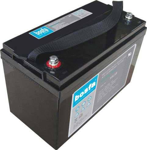 SOLAR12-100 deep cycle battery for solar system 12v 100ah solar energy ups rechargeable battery sola