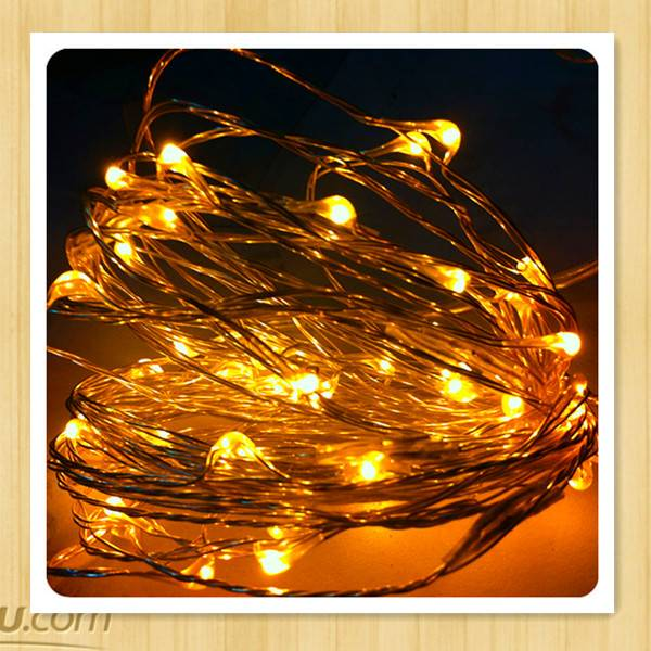 2013 hot sale LED  copper string light battery operated