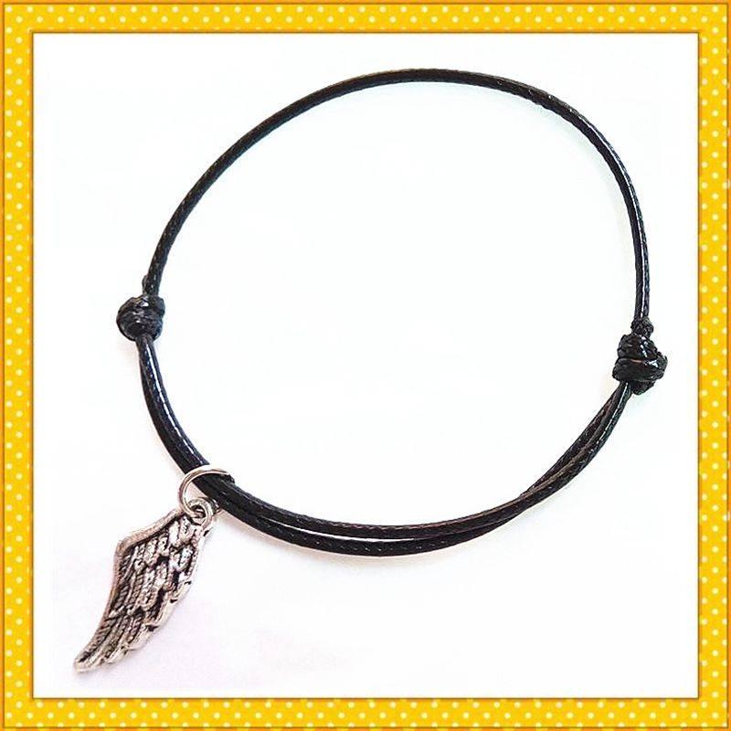 wing shape alloy gift charm bracelet