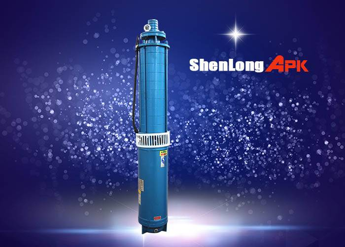 380v 50Hz 3phase AC brushless deep well submersible water pump