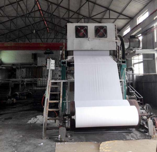 Good Quality And Price Jumbo Roll Tissue Machine Waste Paper Recycling Toilet Paper Production line