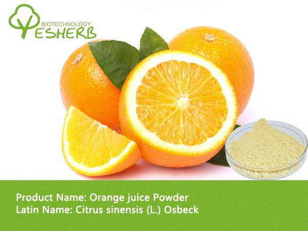 Health products best quality Orange juice Powder