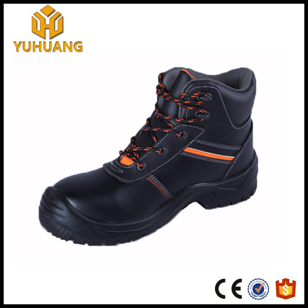 Best synthetic leather anti static steel toe safety shoes