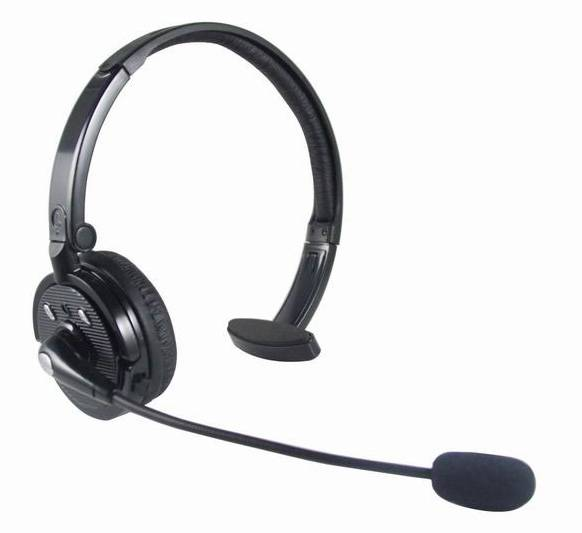 Bluetooth Mono Headset with 20hs Talk Time