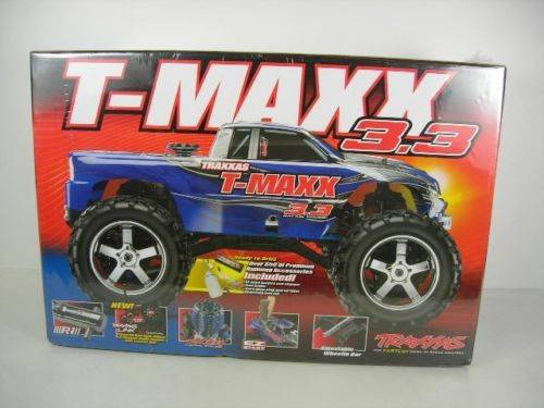 New Traxxas RTR 1/10 Monster T-Maxx 3.3 4WD 2.4GHz