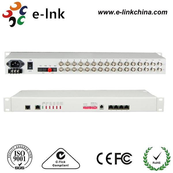 16E1 + 4FE PDH Multiplexer