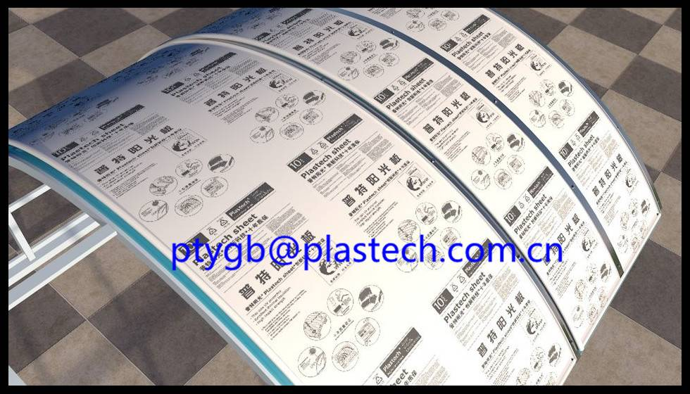10 years guarantee CCTV Recommended Greenhouse Polycarbonate Sheeting Manufacturer