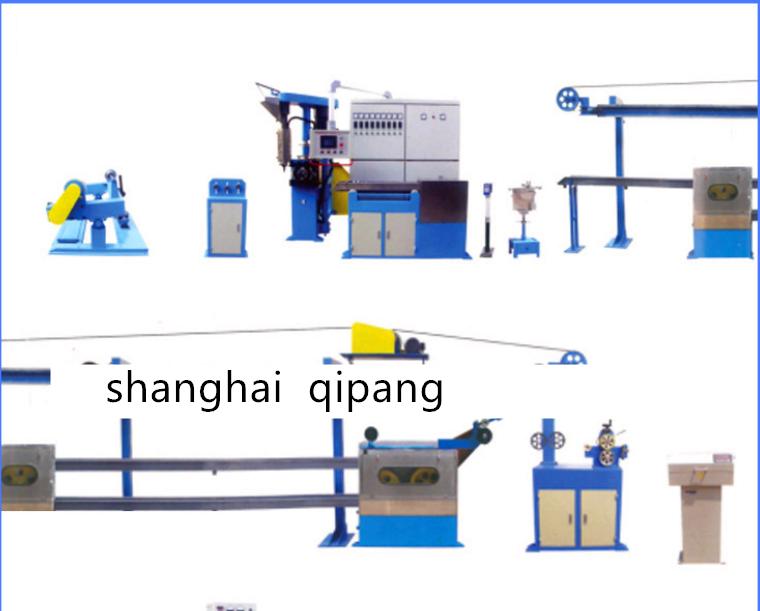 70+35 high speed plastic extruder line machine payoff stand equipement suppliers