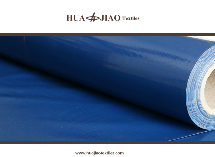 PVC Truck side curtain coated fabric