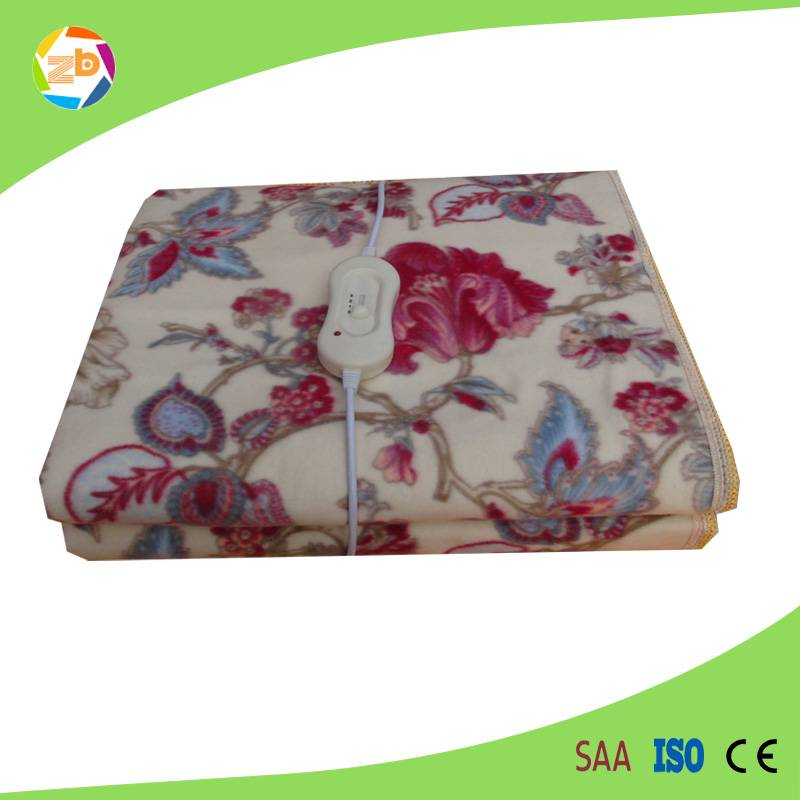 Printed pattern controller temperature electric blanket