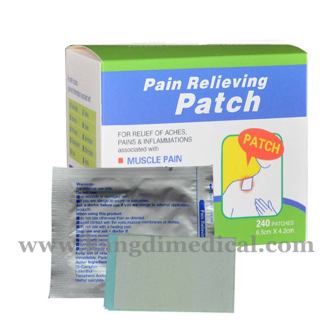 Chinese OEM direct factory herbal pain relief patch manufacturer