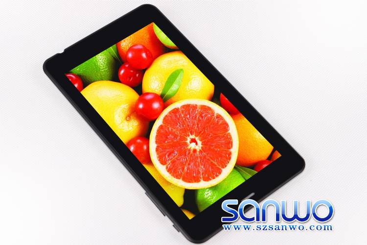 """A13 1.0GHZ tablet pc with Bluetooth and dual camera 7"""" LCD tablet pc"""