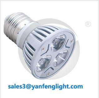 LED Spotlight Bulb Lamp E27