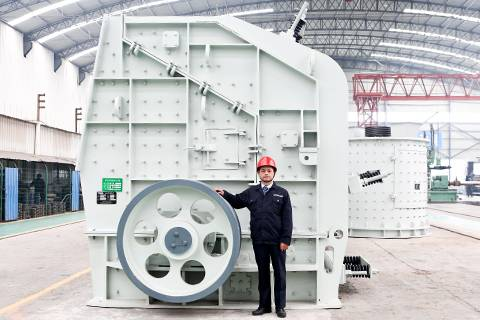Widely used energy conservation and environmental protection counterattack crusher for sale