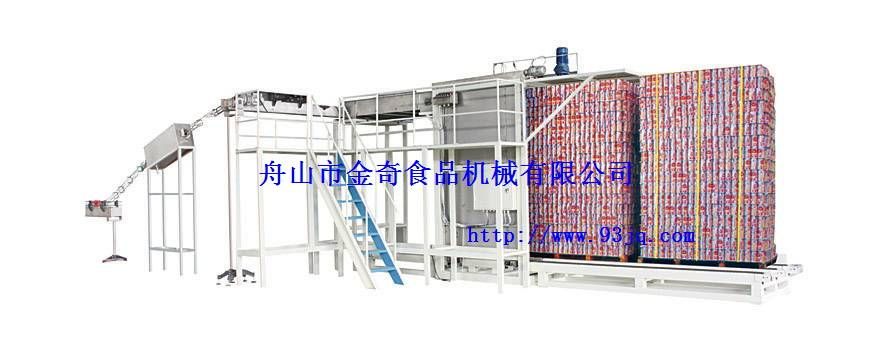 Empty can depalletizing machine JQ300B