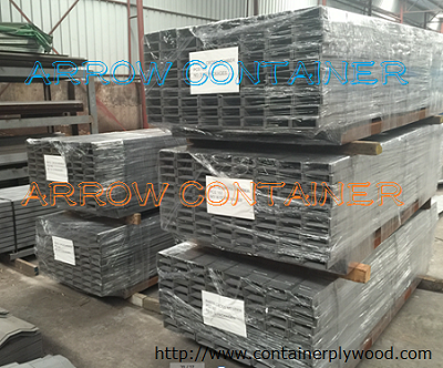 Container parts- shipping container bottom cross member
