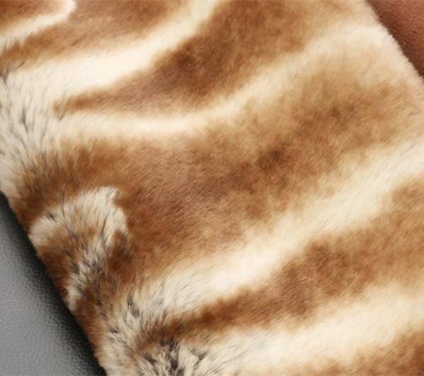 Chinchilla design faux fur/fake fur