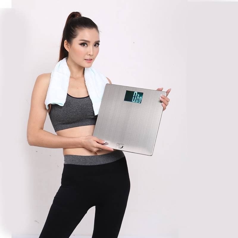 Stainless Steel Platform 200kg Backlit Screen electronic Personal health Scale