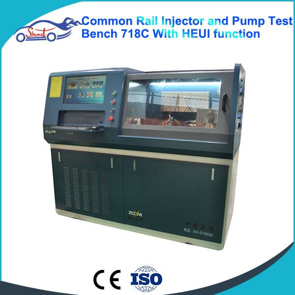 Common Rail Diesel Injection Pump Test Bench  ZQYM 718C CRS Tester