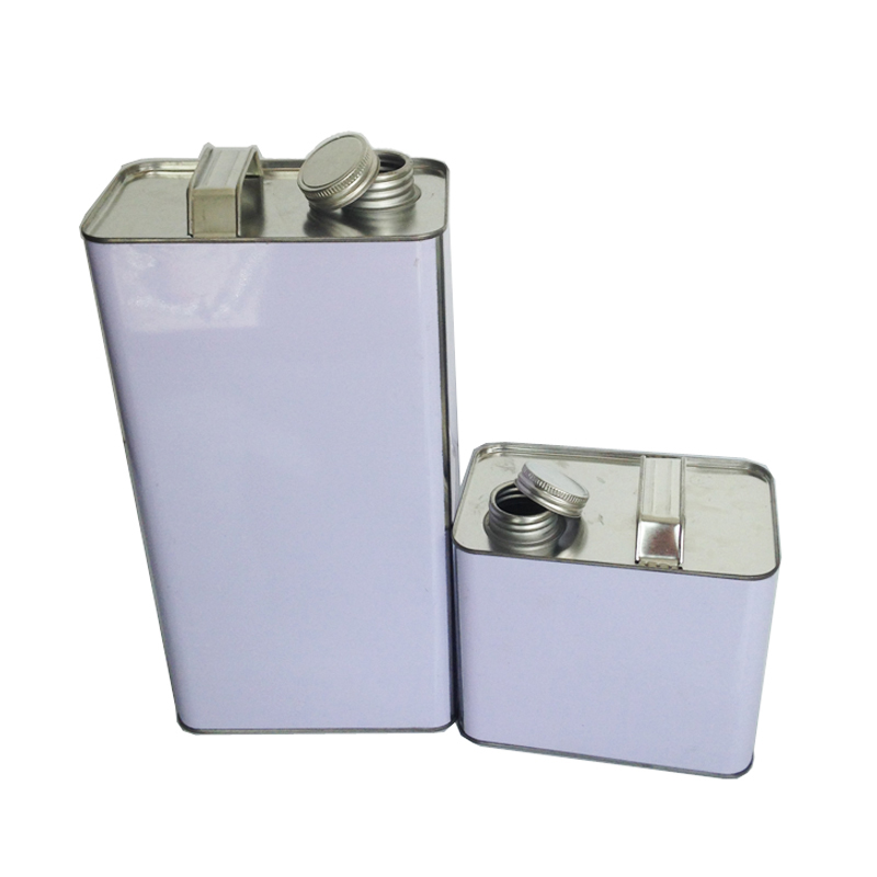 square type 4L 3.7L, gallon can for lubricant, thinners, hardners, etc