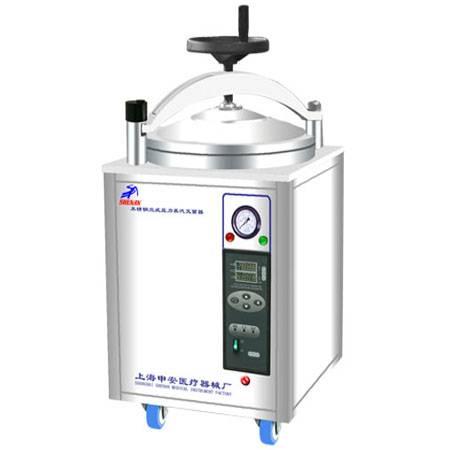 Hand Wheel autoclave pressure manual steam sterilizer