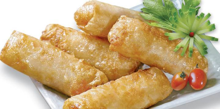 PRE- FRIED SEAFOOD SPRING ROLL