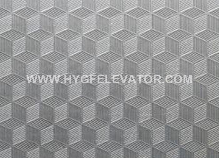 Cube Pattern Stainless Steel Embossed Colour Sheet