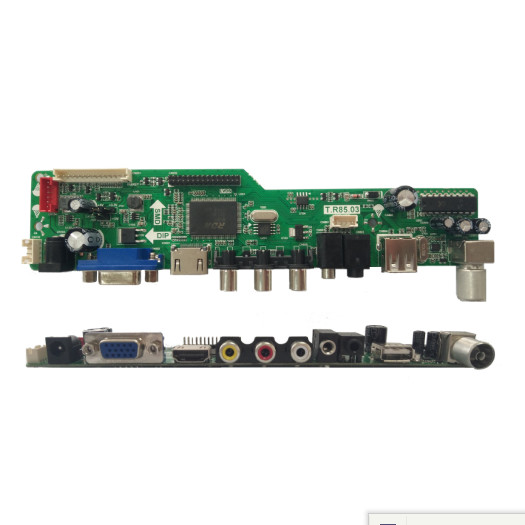 HD FHD LED TV Mother Board with USB Multimedia