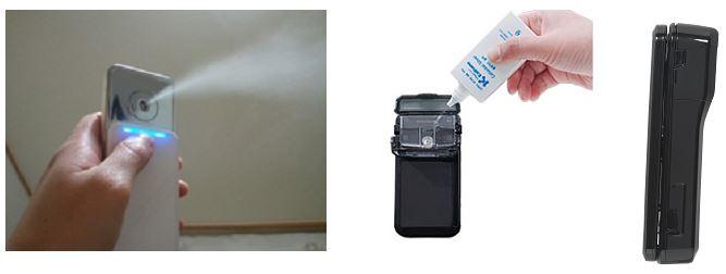 Chargable ultrasonic mist device