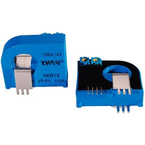 DC current sensor solid core open loop current transducer 300A:2.5V+/-0.625V