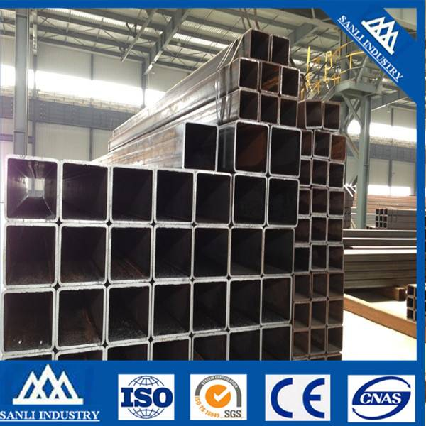 Cold Rolled Square Welded Black Steel Pipe