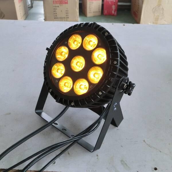 IP65 waterproof 9X15W RGBWA outdoor light,IP65 outdoor party light,IP65 led par cans,garden light