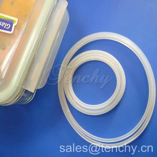 Food grade silicone sealing ring