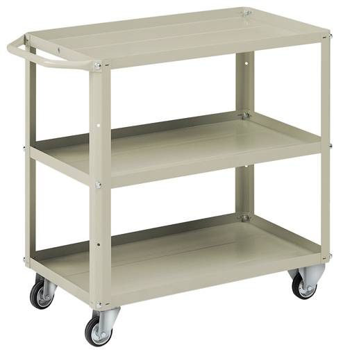 Trolley with trays