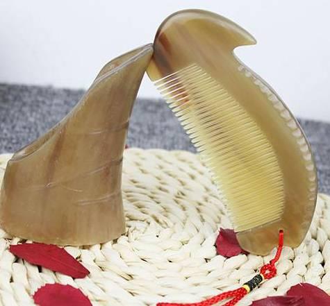 White Buffalo Horn Combs Christmas Gift