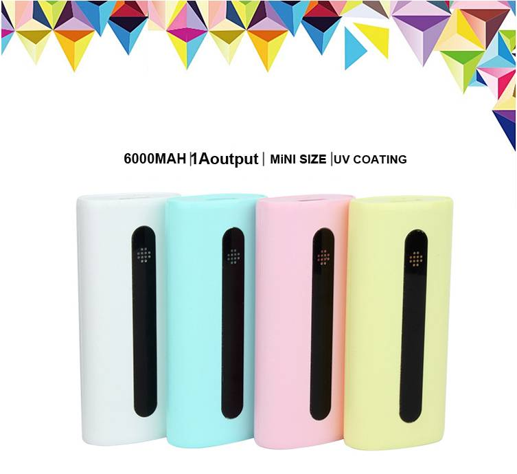 2015 new design compact 3000mah usb portable power banks