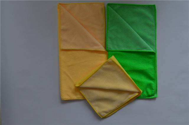 Microfiber Towel With Mesh