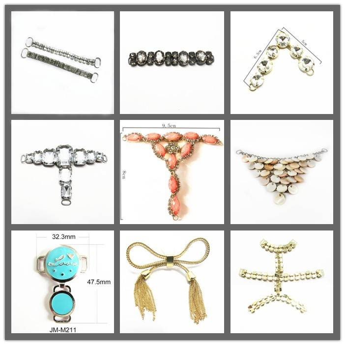 Rhinestone chain for lady shoes
