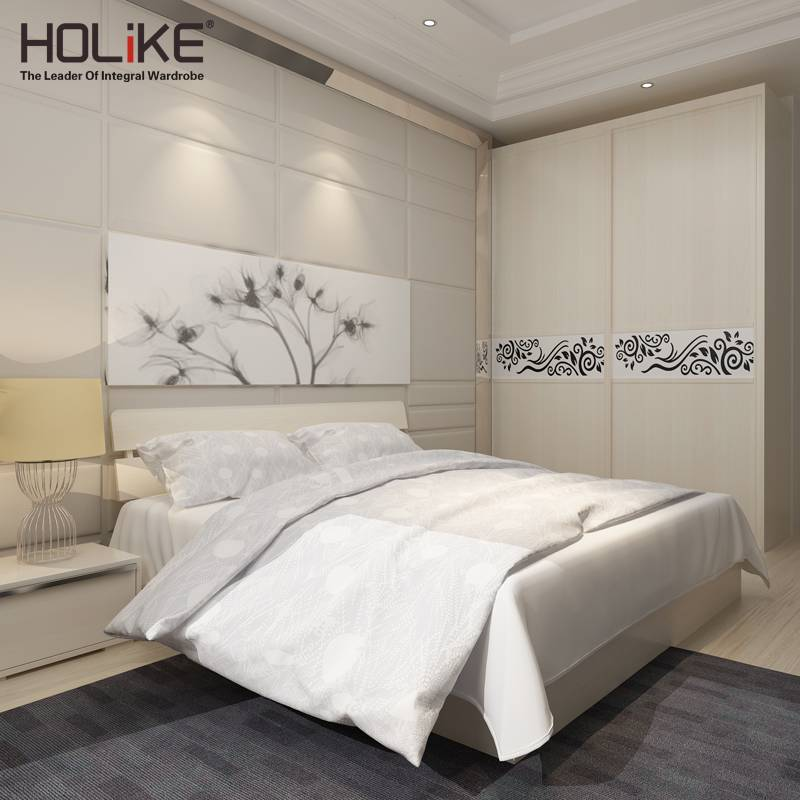 2016 hot sale sliding doors wardrobe for hotel