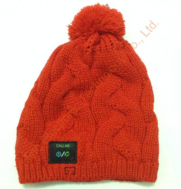 Chinese manufacturer of Knitted wireless cap, Bluetooth music cap, wireless music hat, sports music