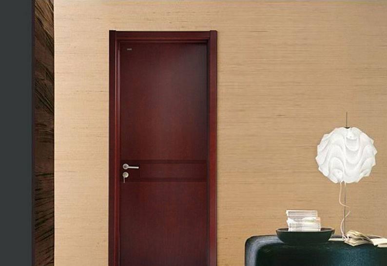 Single Wood Entry Door