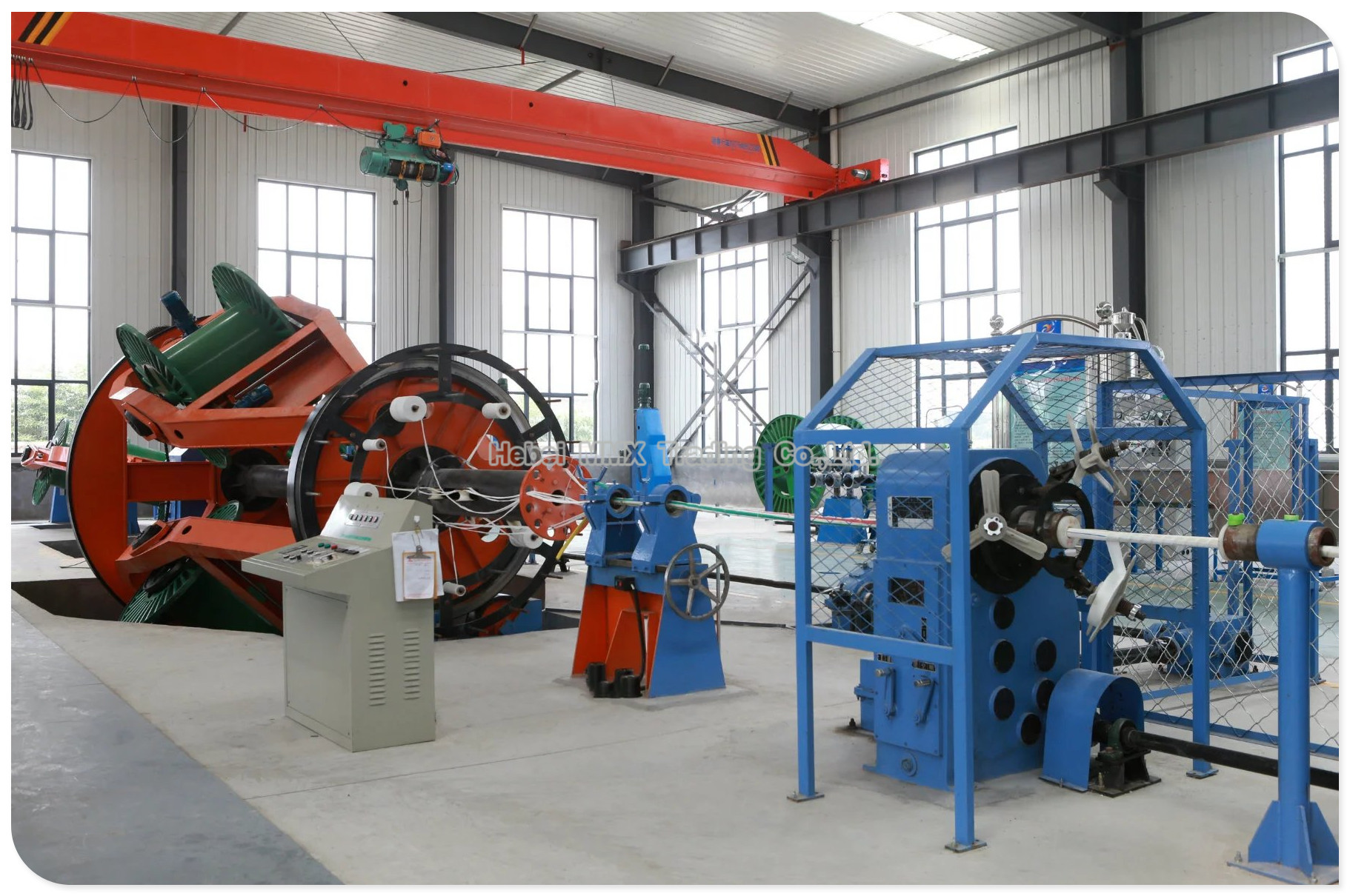 Cable Machine for Insulated Wire and Big Power Cable.