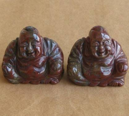 natural sitting indian agate buddhas carvings