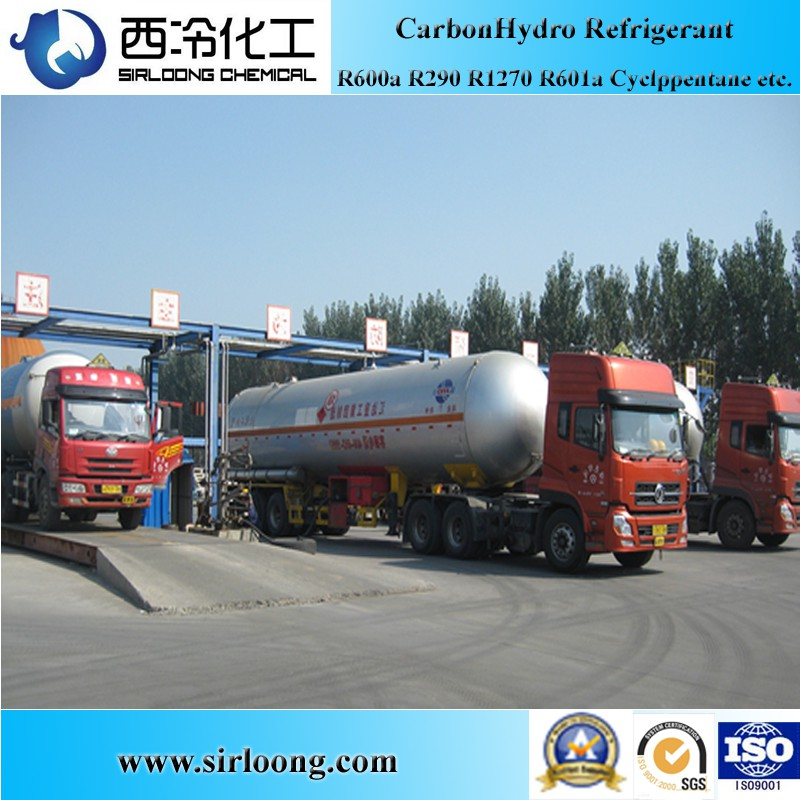 Refrigerant Gas Propane R290 for Air Conditioning